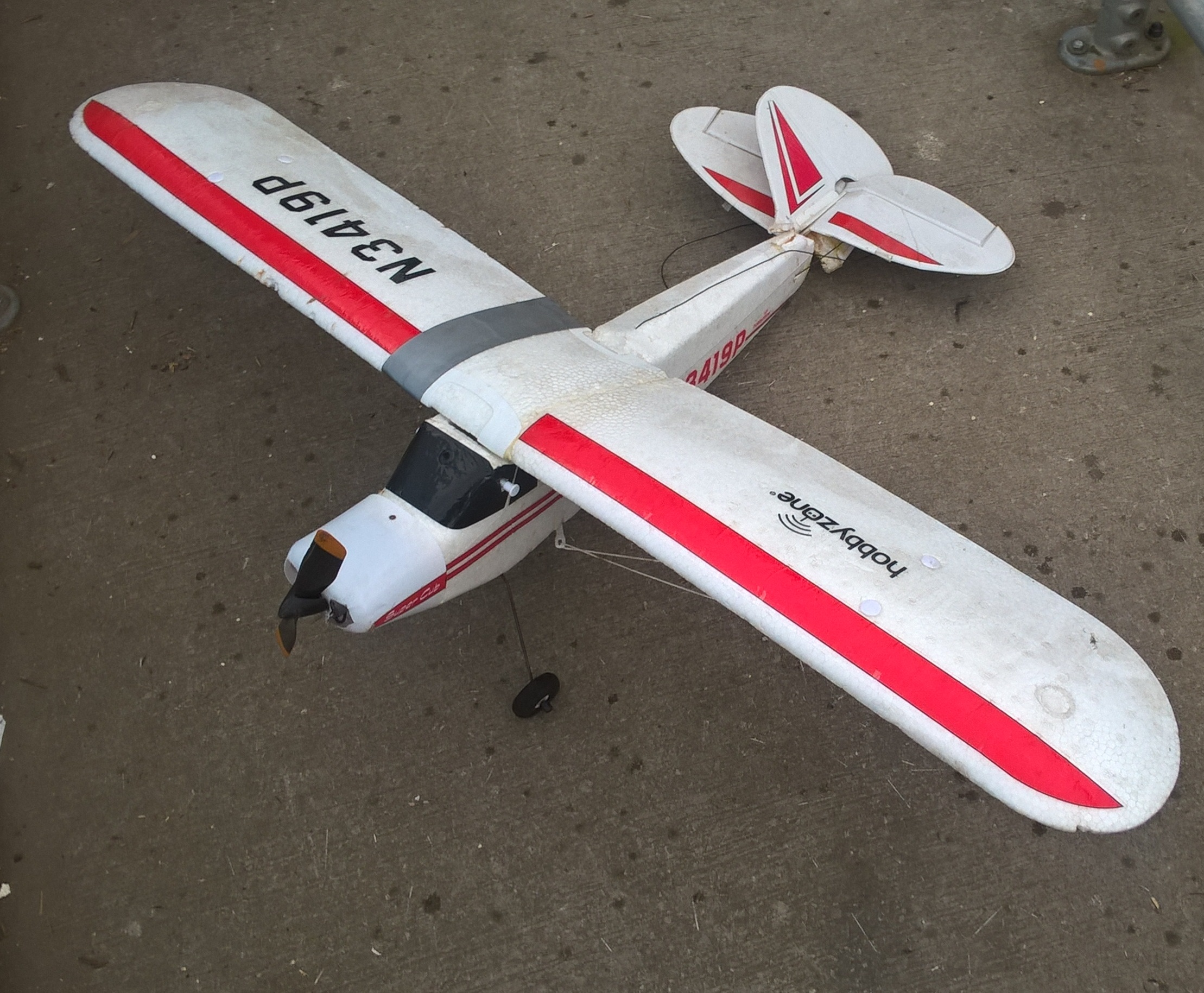model-plane