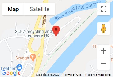 Boysnope Wharf Recycling Centre Location Map