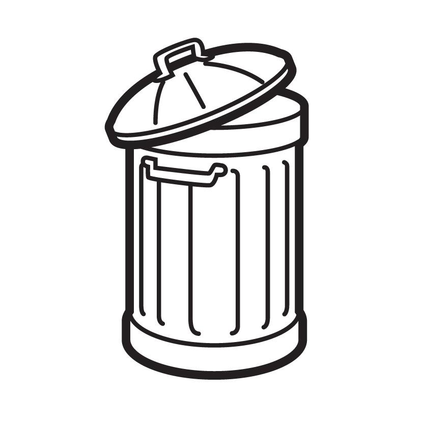 General waste bin icon