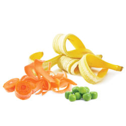 Raw or cooked fruit and vegetables