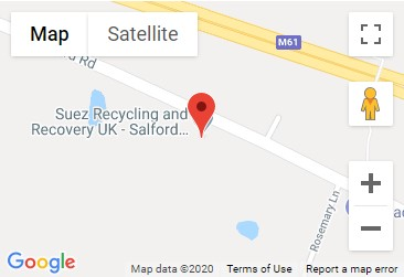 Salford Road Recycling Centre Location Map