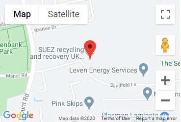 Sandfold Lane Recycling Centre Location Map