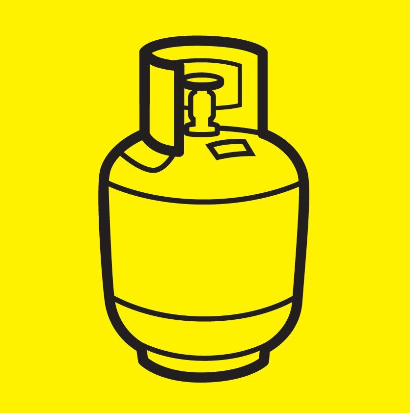 Gas bottles Icon
