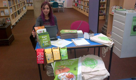 Bury library event