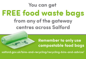 Re-introduction of food waste collection service in Salford flats