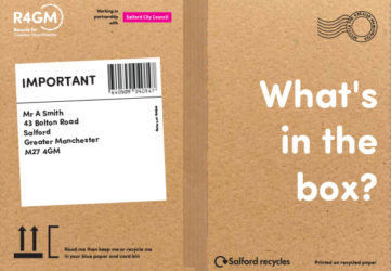 Salford What's in the box? front cover