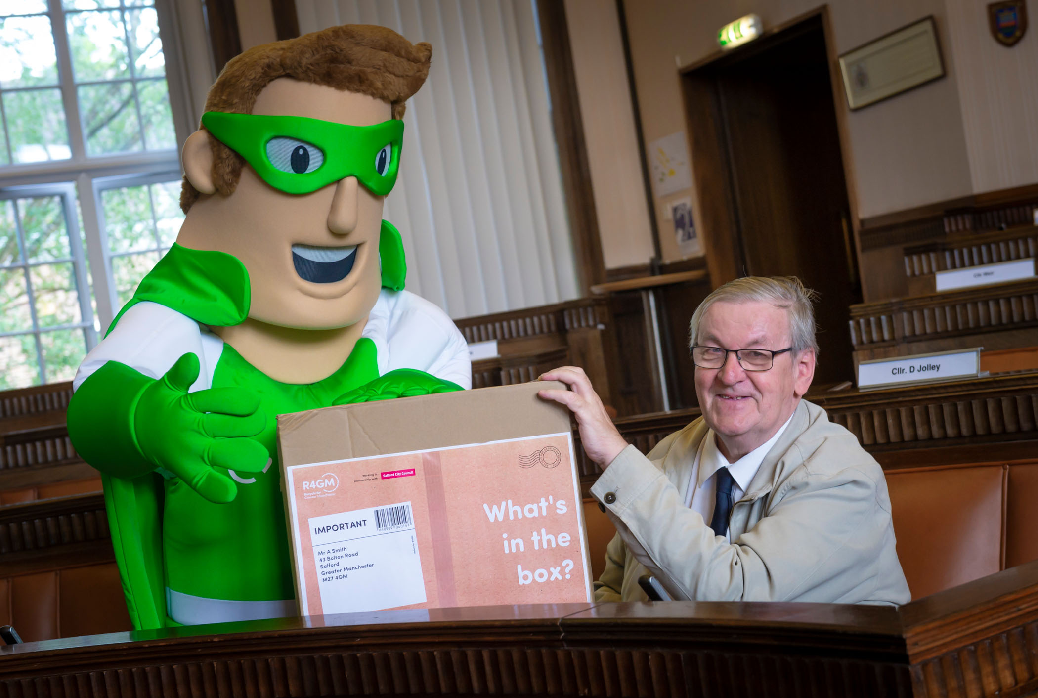 What S In The Box Recycling Campaign Reminds Residents To Keep