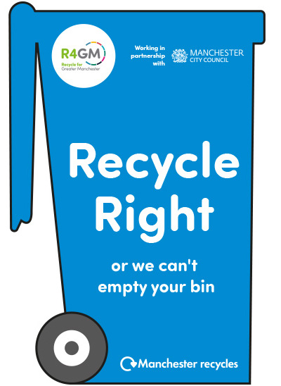 Manchester recycling leaflet