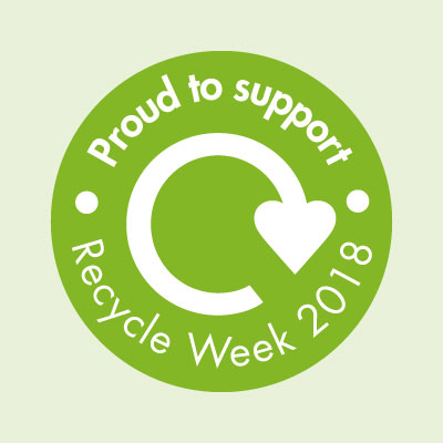 Recycle Week 2018 Supporters badge