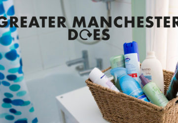 Greater Manchester recycles in the bathroom