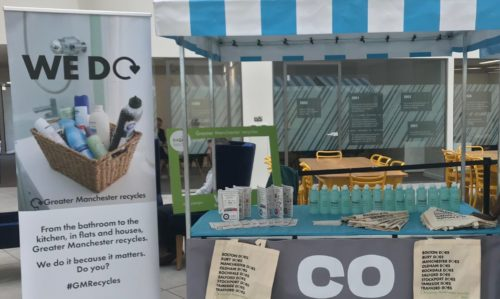 Recycle for Greater Manchester at Co-op Headquarters