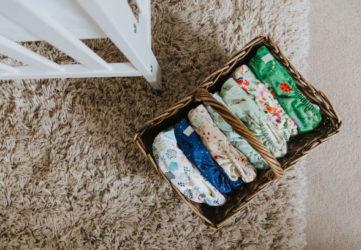 Choosing reusable nappies