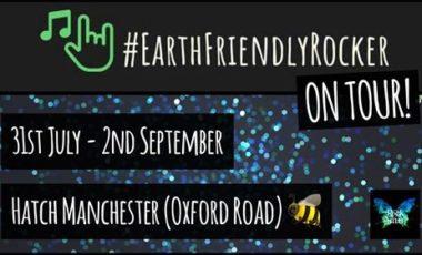 Plastic free bands with #EarthFriendlyRocker