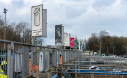 Longley Lane Recycling Centre containers