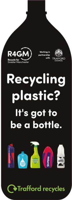 Trafford recycling leaflet
