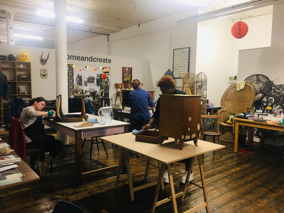 Tread Softly Upcycling Furniture Workshop