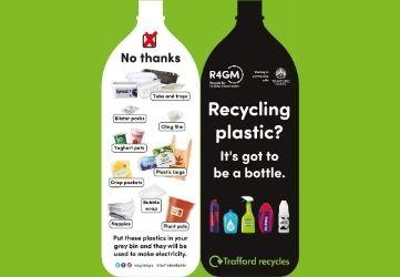 Trafford Plastic Bottle Leaflet
