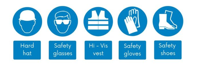 Personal Protective Equipment icons
