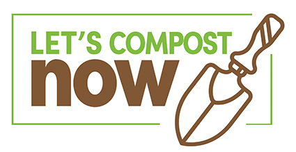 Let's compost now logo