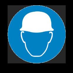 PPE helmet icon
