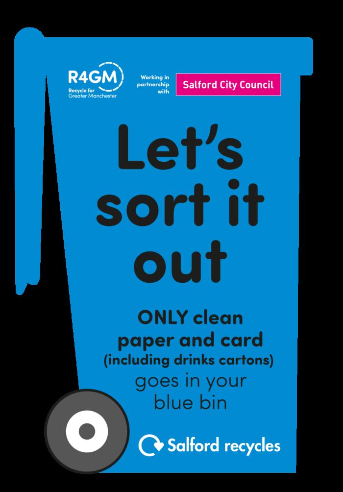 Salford leaflet - let's sort it out