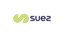 Suez logo on white background