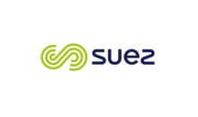 Suez logo on white background